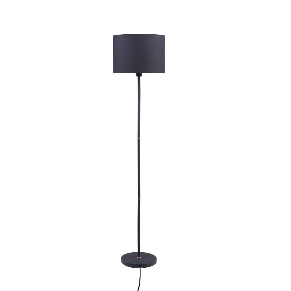 Sternca Floor Lamp Black (Includes Energy Efficient Light Bulb) - Aiden Lane
