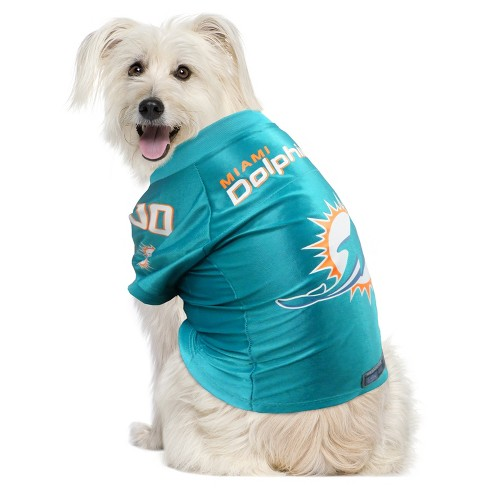 super popular 496d3 719f0 Miami Dolphins Little Earth Pet Premium Football Jersey - Blue XS