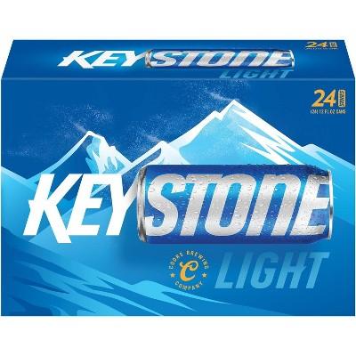 Keystone Light Beer - 24pk/12 fl oz Cans
