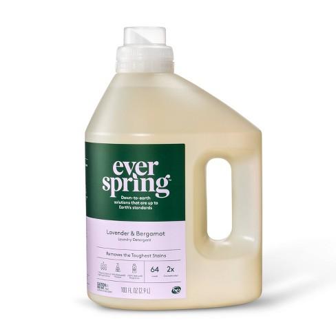 Lavender & Bergamot Liquid Laundry Detergent - 100 fl oz - Everspring™ - image 1 of 3