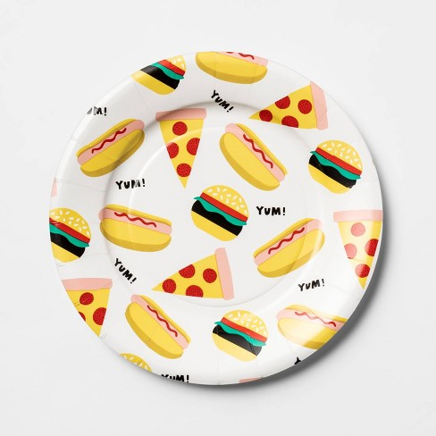 12ct Snack Plate Food Toss - Sun Squad™ - image 1 of 2