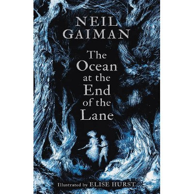 The Ocean at the End of the Lane (Illustrated Edition) - by  Neil Gaiman (Hardcover)