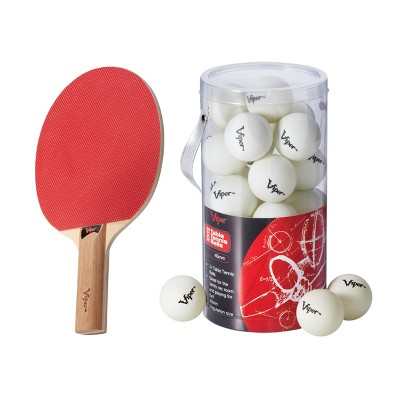Viper Table Tennis Racket with 24 Table Tennis Balls
