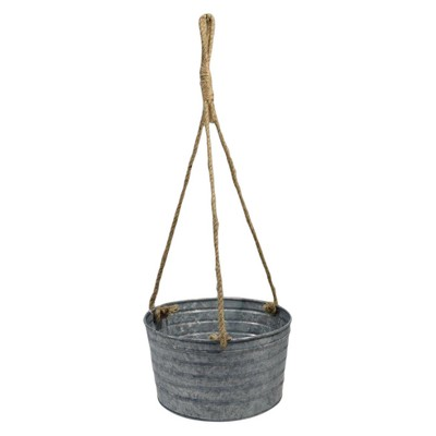 Galvanized Hanging Planter - Threshold™