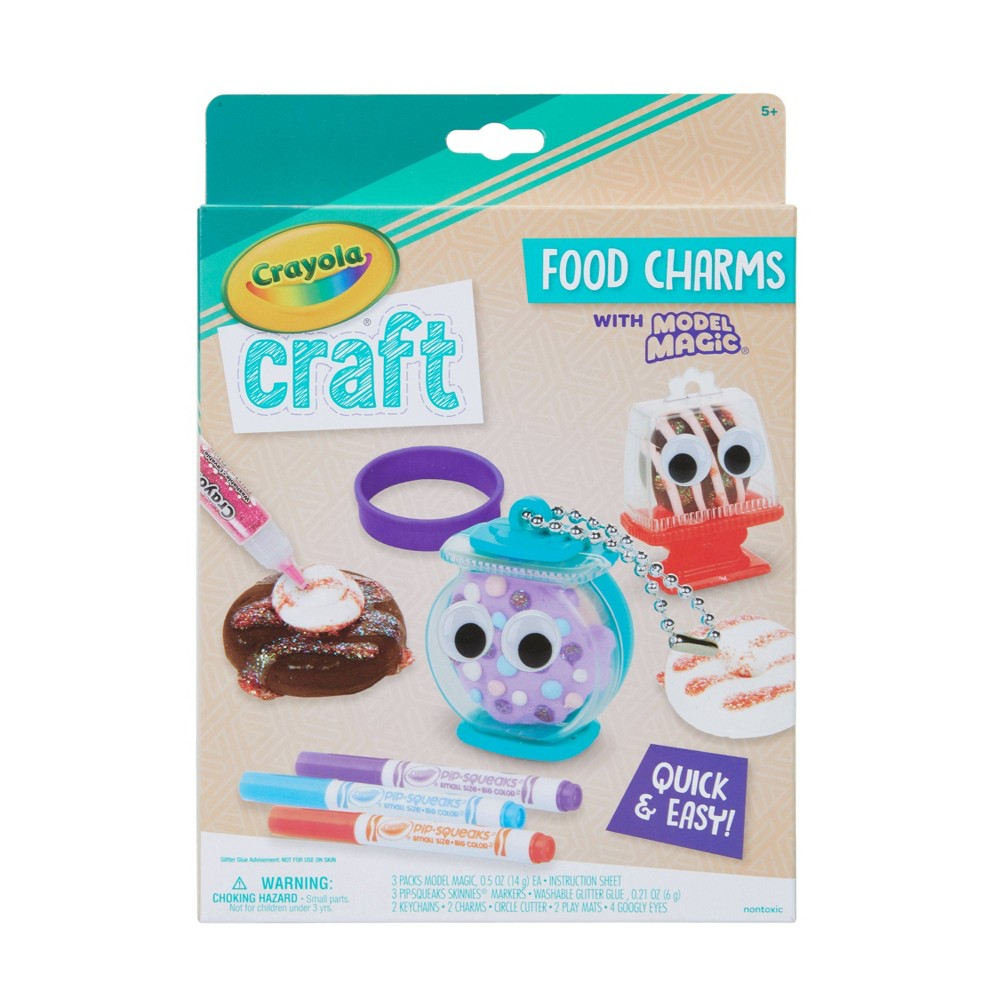 Image of Crayola Craft Model Magic Food Charms Kit