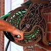 Liberty Garden 704 125 Foot Steel Decorative Garden Hose Wall Mounted Reel - image 3 of 4