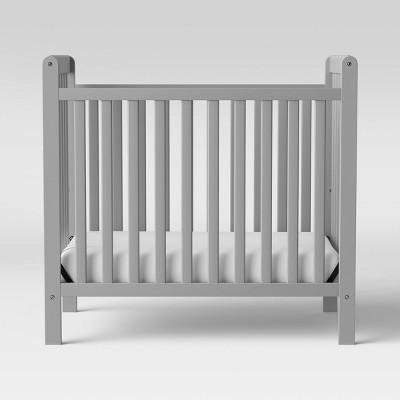 Delta Children Mini Crib Classic - Gray
