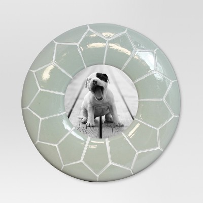Moroccan Pouf Frame 4X4 Horizon Gray - Threshold™
