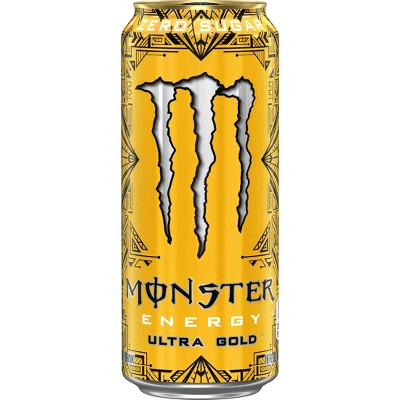 Monster Energy Ultra Gold - 16 fl oz Can