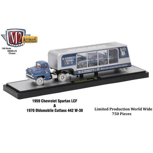 Auto Haulers Release 23, 3 Trucks Set 1/64 Diecast Models by M2 Machines