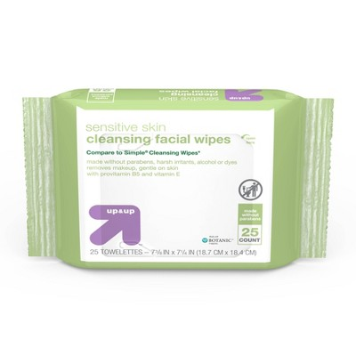 Facial Cleansing Wipes - 25ct - up & up™