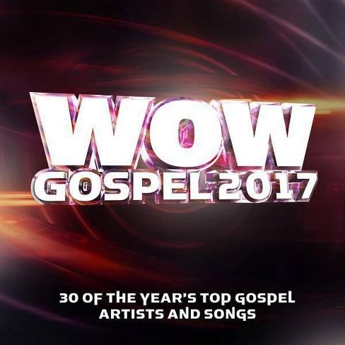 Various Artists -  WOW Gospel 2017 (CD) - image 1 of 1