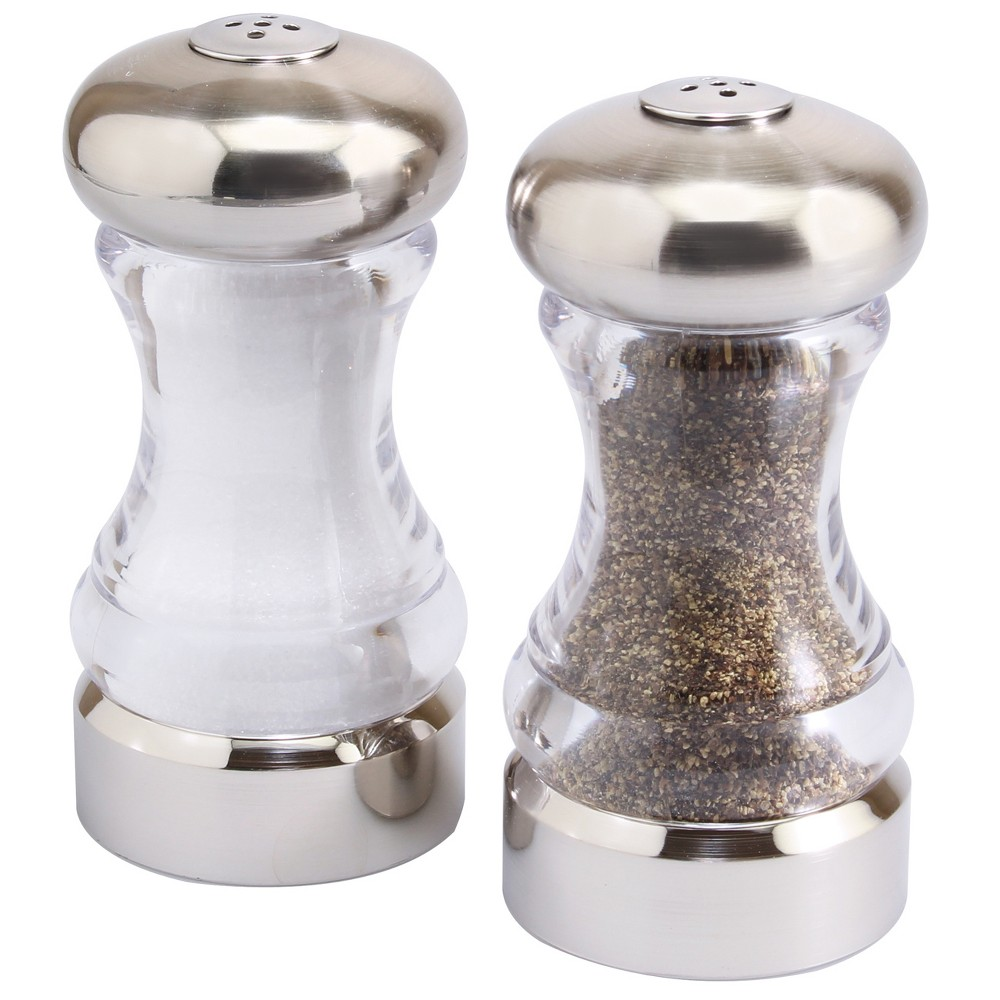 Image of Olde Thompson Monterey Shaker Set Brushed Nickel