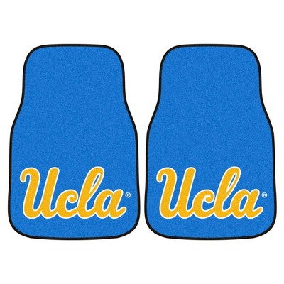 NCAA University of UCLA Bruins Carpet Car Mat Set - 2pc