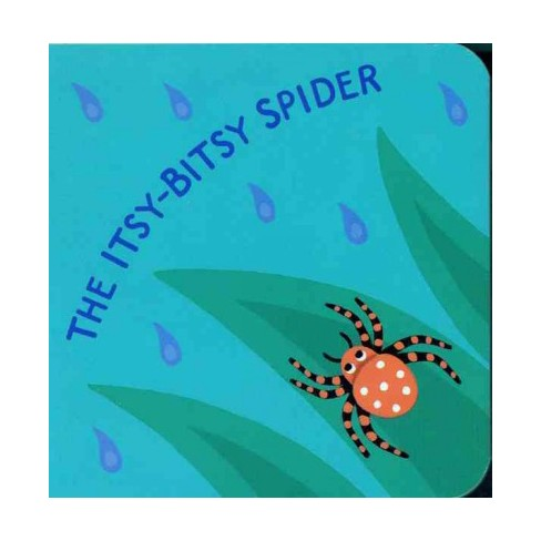 The Itsy-Bitsy Spider - by  Jeanette Winter (Board_book) - image 1 of 1