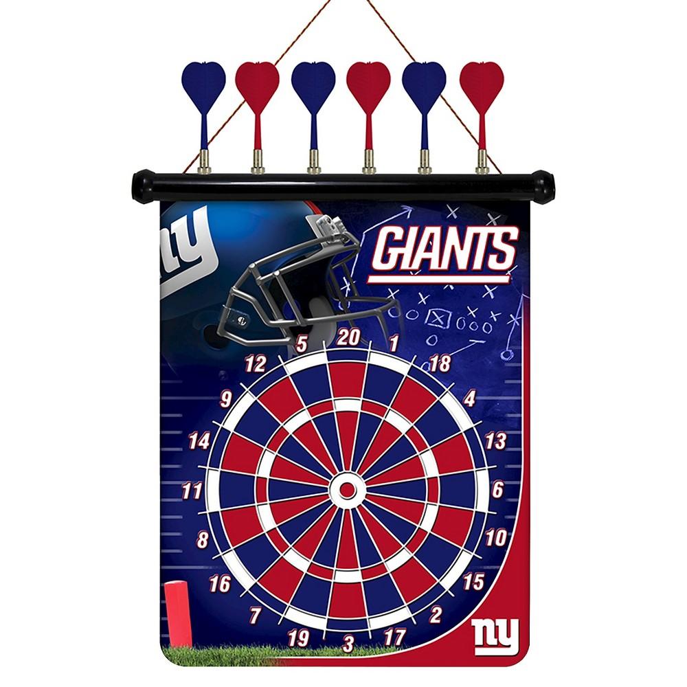 NFL Magnetic Dart Set New York Giants