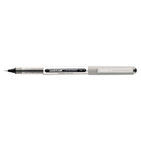 uni-ball® Vision Roller Ball Waterproof Stick Pen, Fine - Black Ink (12 Per Pack) - image 1 of 1