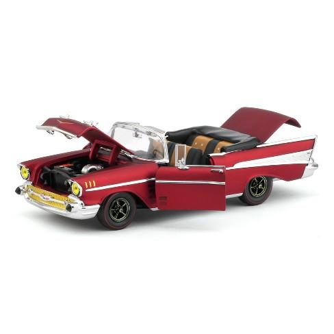 1957 Chevrolet Bel Air Convertible Satin Red