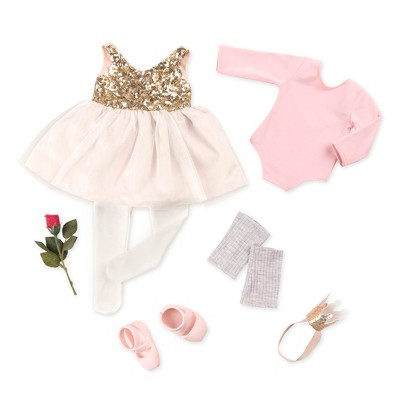 "Our Generation Ballet Outfit for 18"" Dolls - Opening Night - Pink"