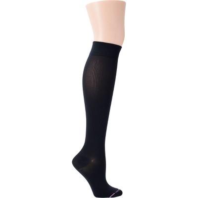 Dr. Motion Women's Mild Compression 3pk Knee High Socks - Black/Beige