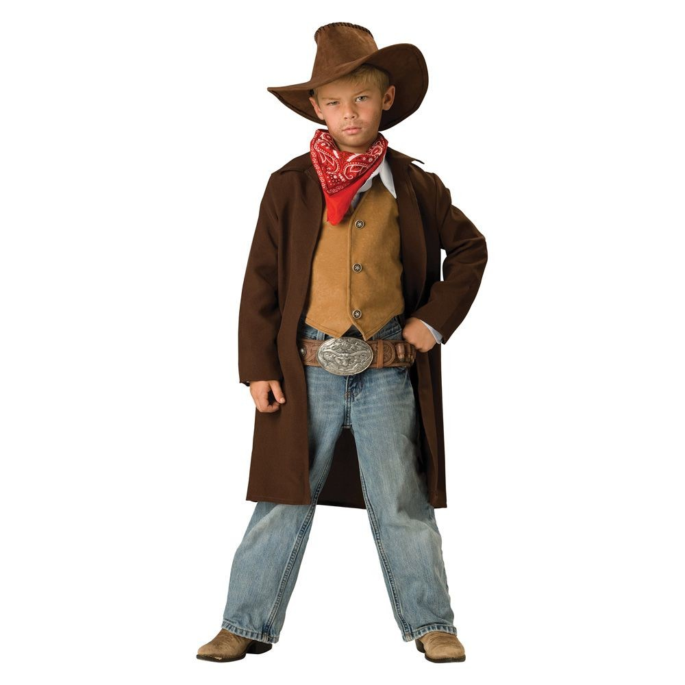 Halloween Kids' Cowboy Costume Medium (7-8), Men's, Size: Medium(7-8)