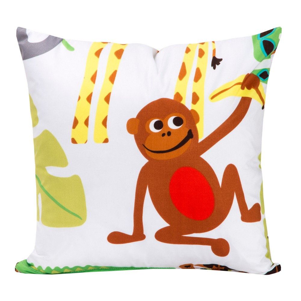 Crayola Jungle Love Throw Pillow (20