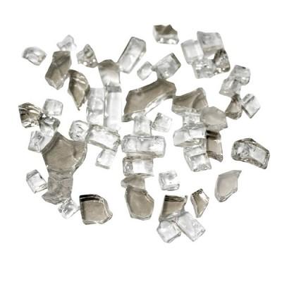 Reflective Fire Pit Fire Glass - Clear - AZ Patio Heaters