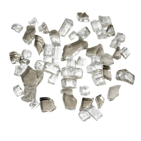 Reflective Fire Pit Fire Glass - Clear - AZ Patio Heaters - image 1 of 3