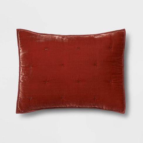 Tufted Velvet Stitch Quilt Sham - Opalhouse™ - image 1 of 4