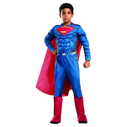 Kids' Dawn of Justice Deluxe Superman Costume - S(4-6) - image 1 of 1