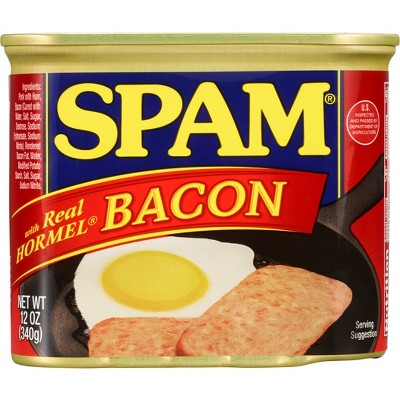 SPAM with Bacon Lunch Meat - 12oz