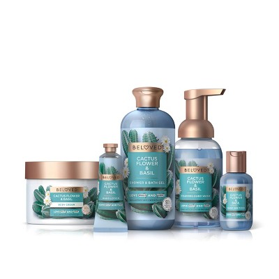 Beloved Cactus Flower & Basil Bath and Body Collection