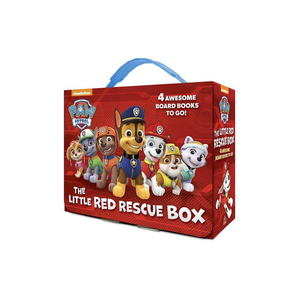 Little Red Rescue Box By Paw Patrol Hardcover