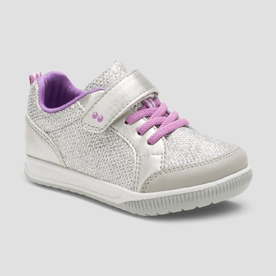 Toddler Girls' Surprize by Stride Rite® Cybill Sneakers - Silver 6