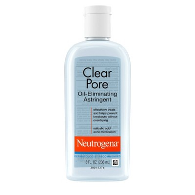 Neutrogena Clear Pore Oil-Eliminating Astringent - 8oz