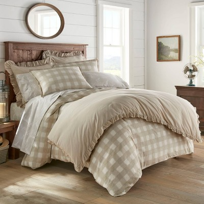 Stone Cottage Full/Queen Braxton Duvet Cover Set Natural