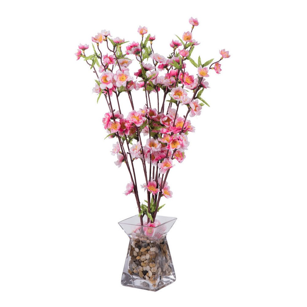 Artificial Blossom Arrangement (24) Pink - Vickerman
