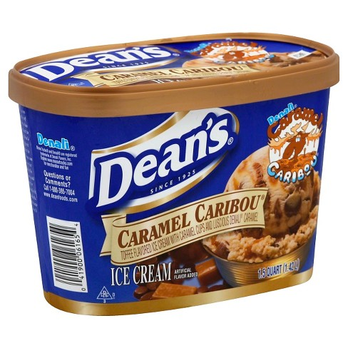 Dean's Caramel Caribou Ice Cream 48 oz - image 1 of 1
