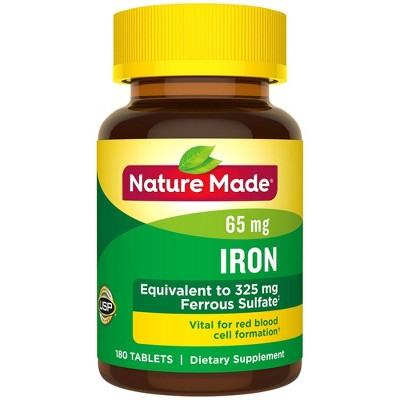 Vitamins & Supplements: Nature Made Iron