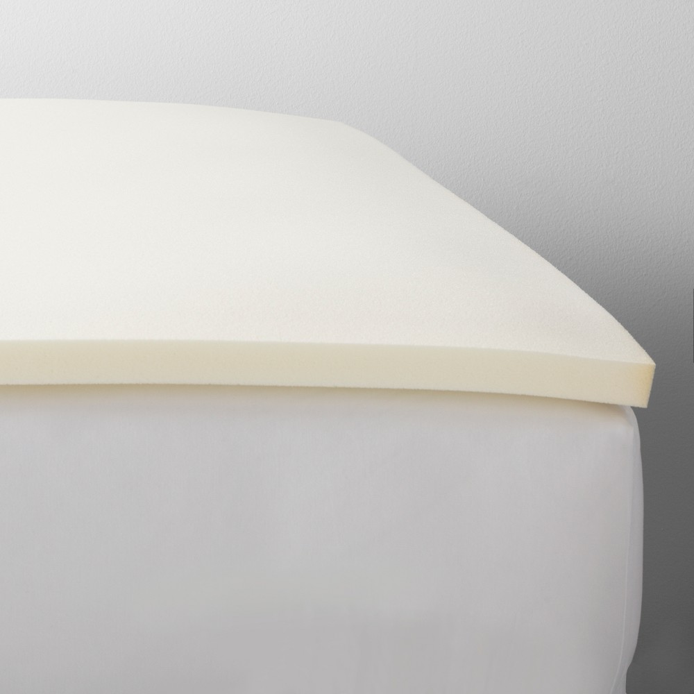 Image of 1.5 Mattress Topper (Queen) White - Made By Design, Beige