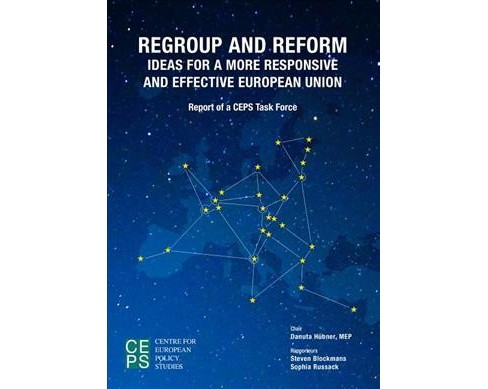 Regroup and Reform : Ideas for a More Responsive and Effective European Union -  (Paperback) - image 1 of 1