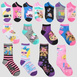 Girls' JoJo Siwa 15 Days of Socks Advent Calendar - Colors May Vary