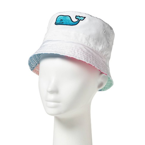 b2c6bcaf7ff3c Baby Reversible Bucket Hat - White   Patchwork Whale - Vineyard Vines® For  Target   Target