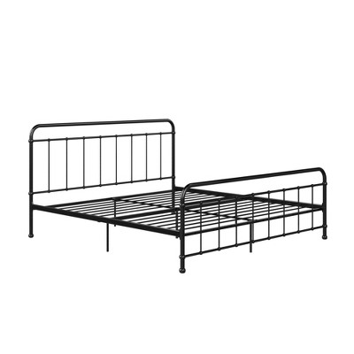 King Bancroft Metal Bed Black - Room & Joy