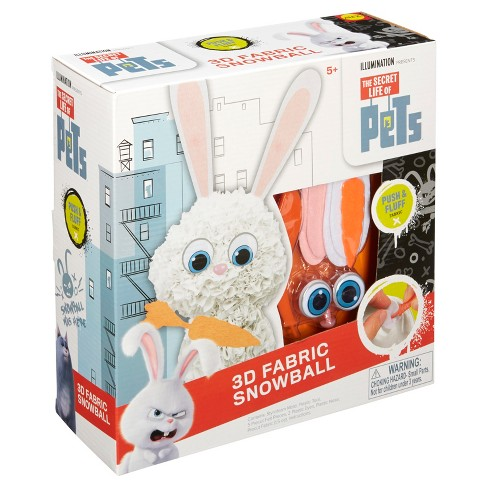 The Secret Life of Pets 3D Fabric Snowball - image 1 of 4