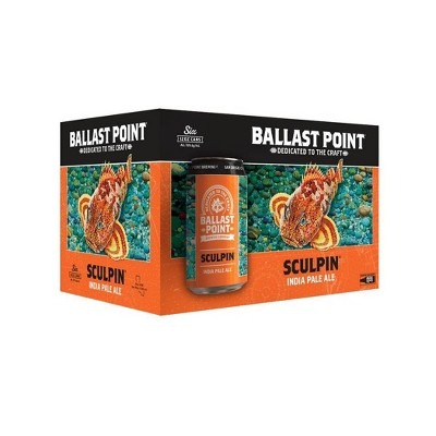 Ballast Point Sculpin IPA Beer - 6pk/12 fl oz Cans