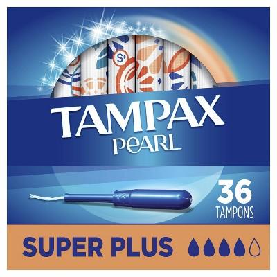 Tampax Pearl Super Plus Absorbency Tampons