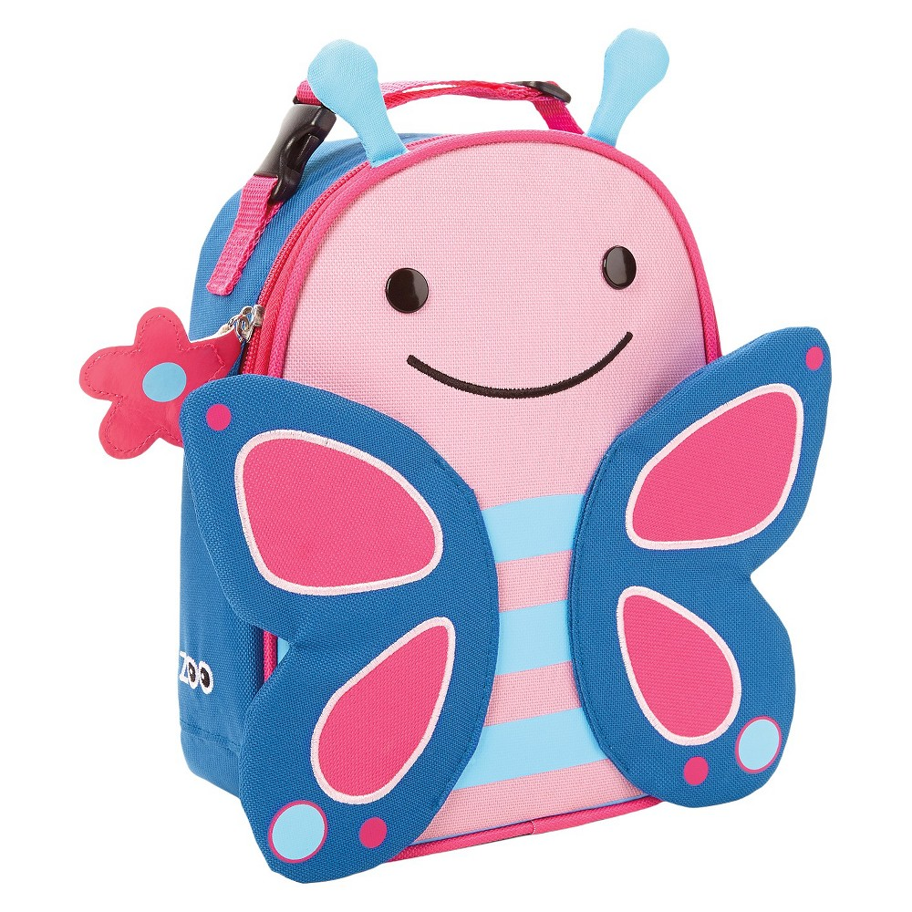 Skip Hop Zoo Little Kids 39 38 Toddler Insulated Lunch Tote Bag Butterfly
