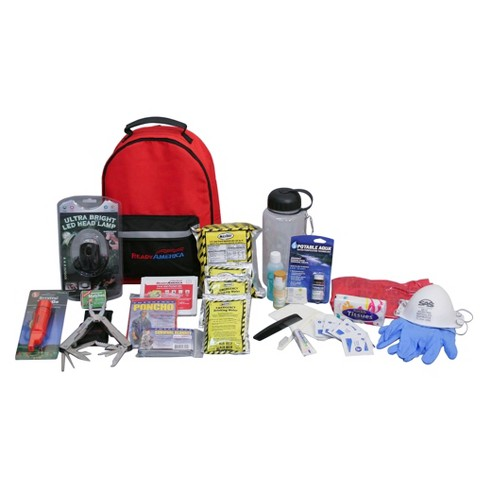 Ready America 1 Person 3 Day Deluxe Emergency Backpack - image 1 of 1