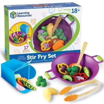 Learning Resources New Sprouts Stir Fry Set, Ages 18 mos+